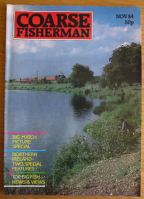Coarse Fisherman magazine - November 1984 (Barrie Rickards, Fishing magazines)