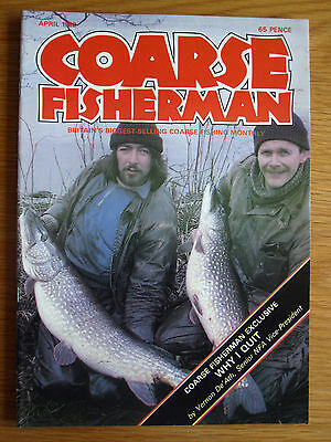 Coarse Fisherman magazine - April 1982 (Richard Walker, Dick Clegg, Andy Orme)
