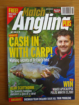 Match Angling Plus magazine - May 2000 (Dave Harrell, Alan Scotthorne, Carp etc)