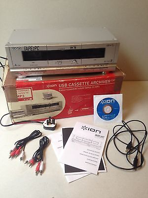 Ion Tape2PC USB Cassette Archiver (Convert tapes to mp3). Boxed