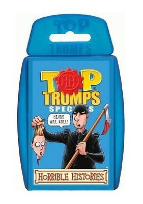Top Trumps Horrible Histories Card Game New & Sealed