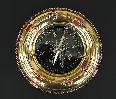 Vintage Maritime Style Brass/copper Compass