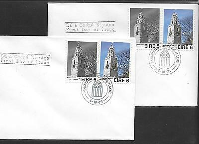 1975      FDC   ARCHITECTURE   Holy Cross cds   Pair       Plain