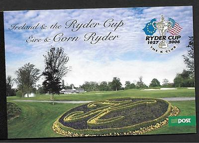 2005      BOOKLET  RYDER CUP HB 133       An Post