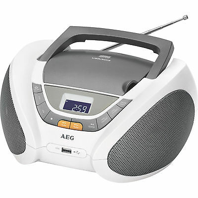 cd player radio boombox mit cd mp3 usb aux in aeg sr. Black Bedroom Furniture Sets. Home Design Ideas