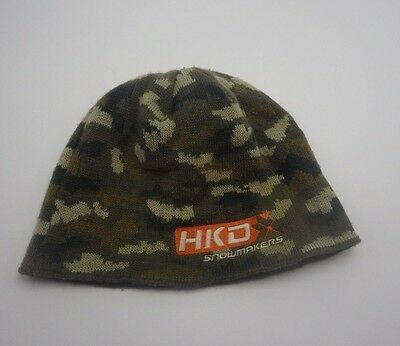 HKD Kids knit  Camo Hat Cap Boys Beanie Snowmakers