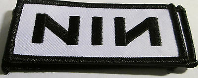 Nine Inch Nails Collectable Rare Vintage Patch Nin Embroided 2014 Metal Live