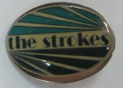 STROKES VINTAGE METAL LAPEL PIN NEW FROM MID 2000's HEAVY METAL