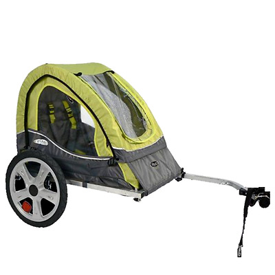 Bicycle Trailer Stroller Canopy Child Kids Jogger Carrier Bike Folding Pet Dog  sc 1 st  PicClick & BICYCLE TRAILER Stroller Canopy Child Kids Jogger Carrier Bike ...