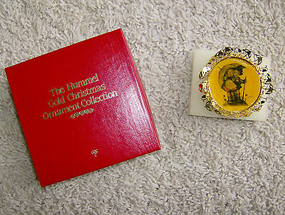 """Vintage The Hummell Gold Christmas """"sunny Weather"""" Ornament Collection"""