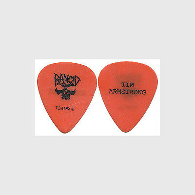 Rancid Tim Armstrong 2008 Let the Dominoes Fall concert tour stage Guitar Pick