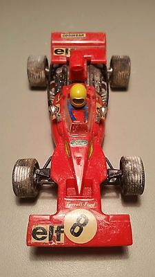 Tyrrell Ford Scalextric Exin C-48 Rojo