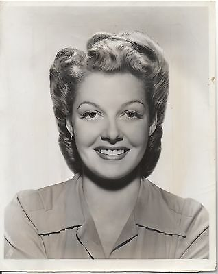 ANN SHERIDAN Vintage Original B&W 8x10 Photo 1942