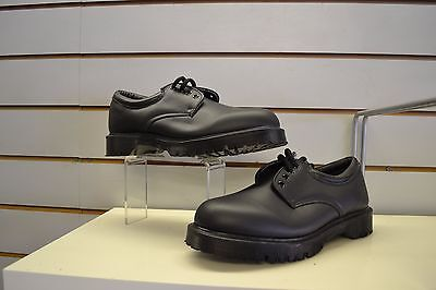 Mens Dr Martens Black Leather Laced Shoes UK Size 8