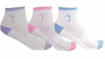 Ladies 3 Pack Golf Socks by Mercia Golf