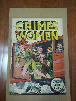 Crimes By Women #54   1954  Good Girl Headlights Cover