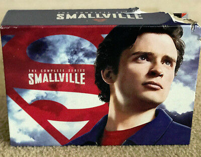 Smallville: The Complete Series (DVD, 2011, 62-Disc Set, With Exclusive