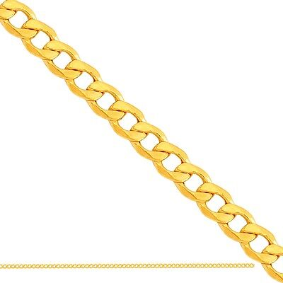"""Mens Womens 14k Yellow Gold Cuban Link Hollow Chain Necklace 4MM 24"""" inch 4 MM"""