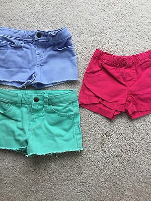 Girls Cherokee Circo Shorts Size 4T Lot Of 3