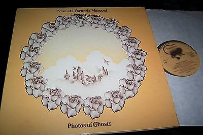 PFM Premiata Forneria Marconi PHOTOS OF GHOSTS Vinyl LP Italian Psych 1972