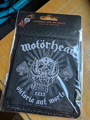 Motorhead - Victoria Aut Morte (New) Sew On Patch Official Band Merchandise
