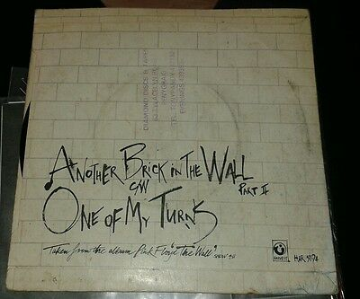 """pink floyd another brick in the wall 7"""" vinyl"""
