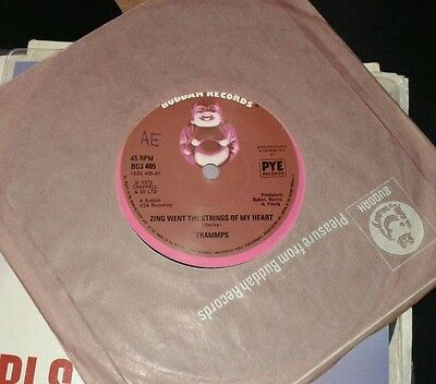 """trammps zing went the strings of my heart 7"""" vinyl"""