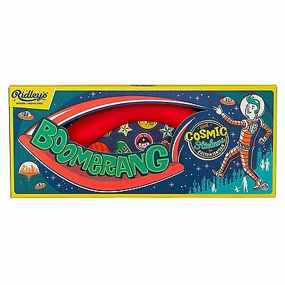 Ridley's Kids' Cosmic Stickers Boomerang, Red