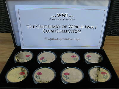Jubilee Mint LE 8 Crown Coin Centenary of WW1 Collection