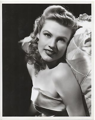 GALE ROBBINS Vintage Original B&W 8x10 Photo 1940s
