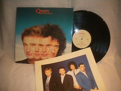 "12"" Lp Queen -- The Miracle"