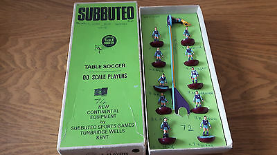 Subbuteo   H/w Team No74 Aston Villa    Repainted