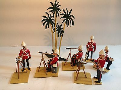 Unusual British Army surveying party.