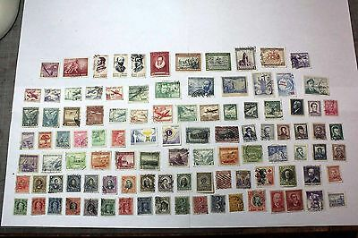 Mixed Lot of 100  Chile Postal Postage Stamps   Collection    CHIL003