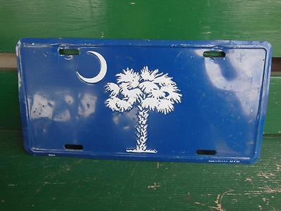 Moon And Palm Tree Novelty License Plate Hot-Rod Man-Cave Tavern Bar Garage