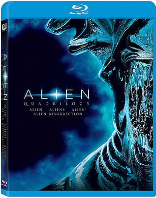 Alien Quadrilogy [BLU-RAY, NEW] FREE SHIPPING