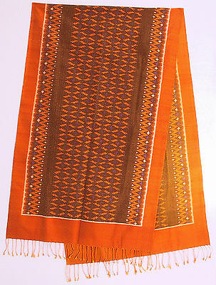 Wall hanging or shawl, silk, Cambodia