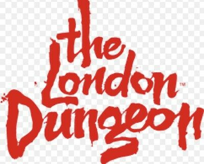 London Dungeon Tickets x 2 (Sun Superdays) Between June 1st And October 15th