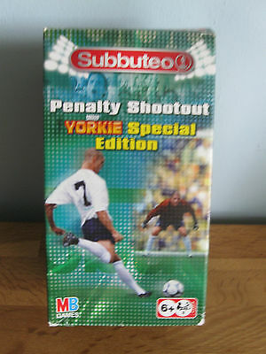"Excellent Subbuteo ""Yorkie Special Edition "" Penalty Shootout Set"