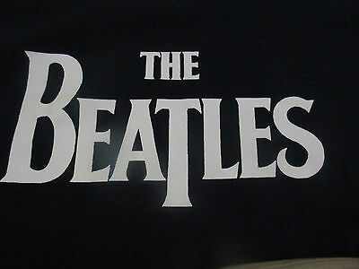Beatles T Shirts ( Lot Of 3 ) 1 Med 2 Lrg Heavy Print Both Sides Never Worn Nm !