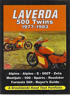 Laverda Alpina Alpino 500T Zeta Montjuic Formula 500 1977 - 1983 Road Tests Book