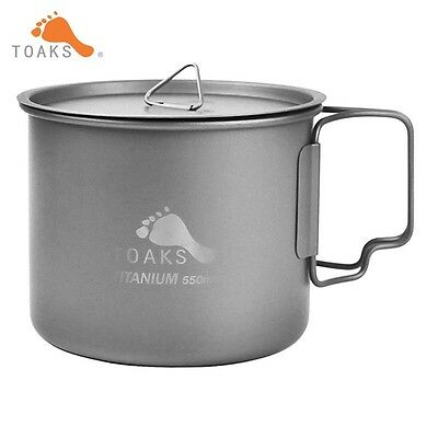 Titanium Ultralight 3in1 550ml Outdoor Camping Bowl Cup