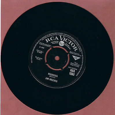 Jim Reeves - I Won't Come In While He's There Jukebox Friendly 45rpm Vinyl Singl