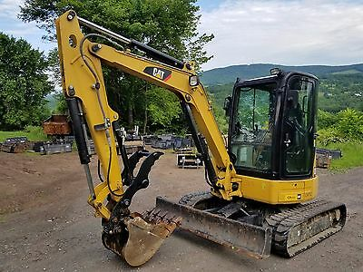 2012 Cat 304E Cr Excavator Cab A/c Thumb! Ready 2 To Work!  We Ship Nationwide!