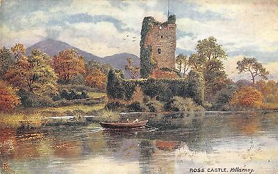 BR62865 ross castle killarney painting postcard   ireland