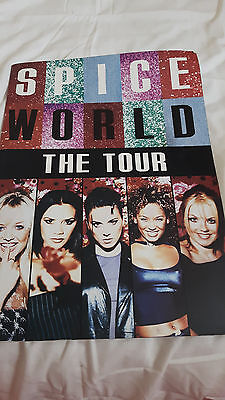 The Spice Girls Spice World  Tour Tour Programme From 1998