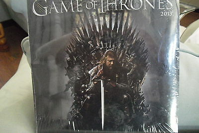 GAME of THRONES 2013 UNOPENED CALENDER