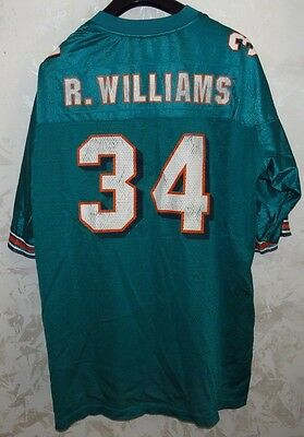 Maglia Shirt Jersey Nfl American Football Miami Dolphins Williams Usa Size 2Xl