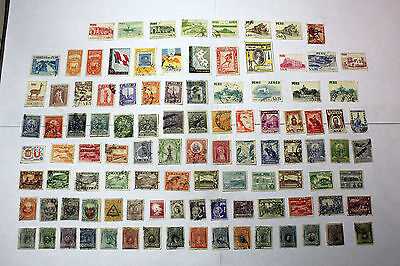 Lot of 100 Peru  Postal  Postage Stamps Mixed   Collection    PERU003