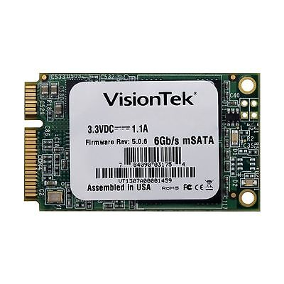 VisionTek 480GB mSATA SATAIII Internal Solid State Drive - 900613 480 GB